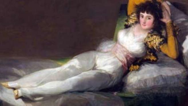 Pintura 'La Maja Vestida' De Goya