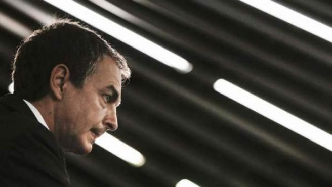 Imagen de archivo del presidente de Gobierno en funciones, José Luis Rodríguez Zapatero.