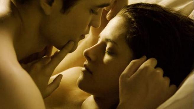 Una imagen de 'Amanecer, parte I', la nueva película de la saga 'Crepúsculo'.