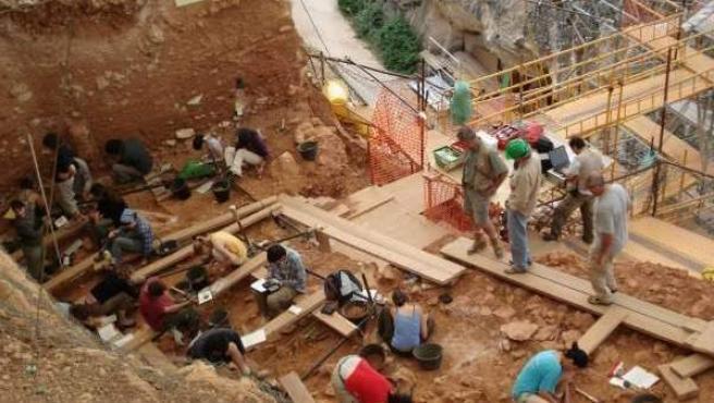 Imagen de archivo del yacimiento de Atapuerca.