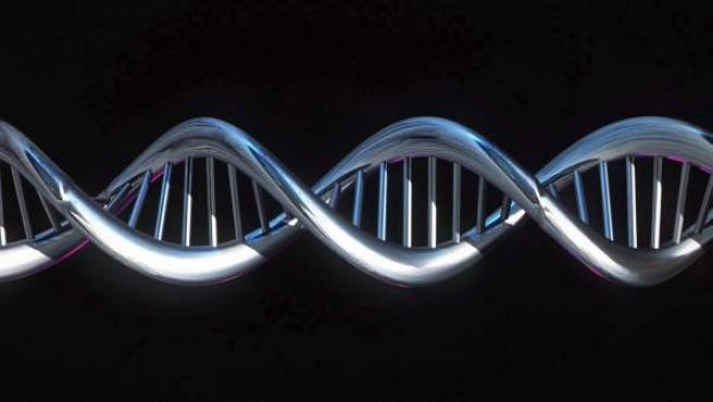 Imagen de archivo de una secuencia del genoma.