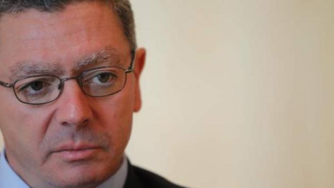 El ministro de Justicia y exalcalde de Madrid, Alberto Ruiz-Gallardón.