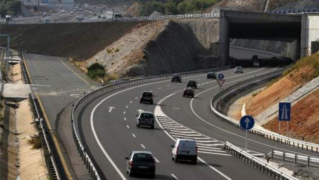 Imagen de una de las carreteras de Málaga.