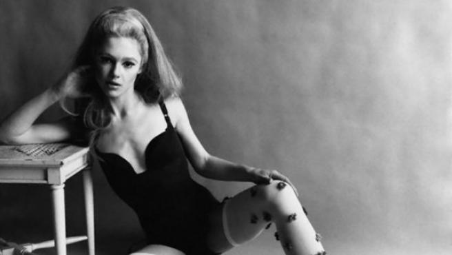 Una de las fotos de Edie Sedgwick que aparecieron en Vogue