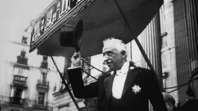 Niceto Alcalá-Zamora, recién nombrado presidente de la Segunda República.