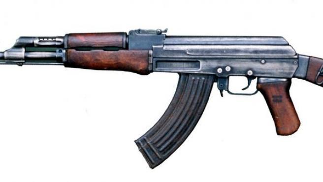 El Kaláshnikov AK-47, el arma más usada en el mundo