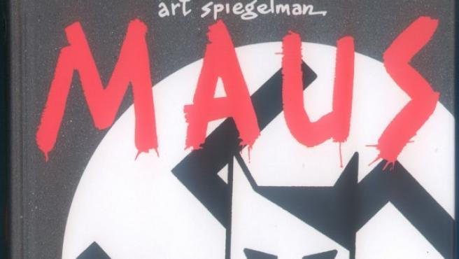 Portada de 'Maus', el premiado cómic de Art Spiegelman.