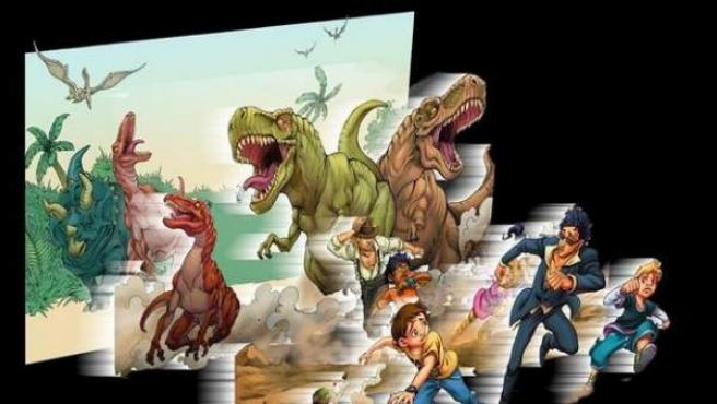 Una aventura tridimensional para pequeños cinéfilos y amantes de los libros.