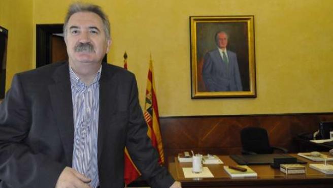 El Delegado Del Gobierno En Aragón, Javier Fernández López.