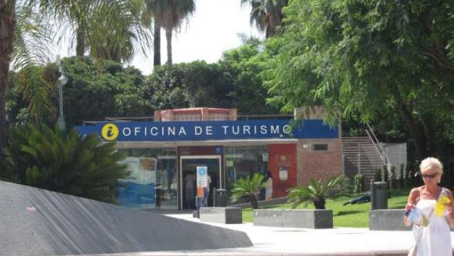 Turistas Oficina Información Turismo Málaga Viajera
