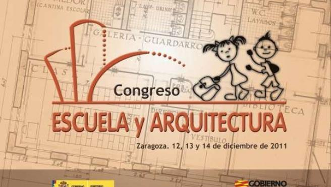 Cartel Del I Congreso Nacional Escuela-Arquitectura