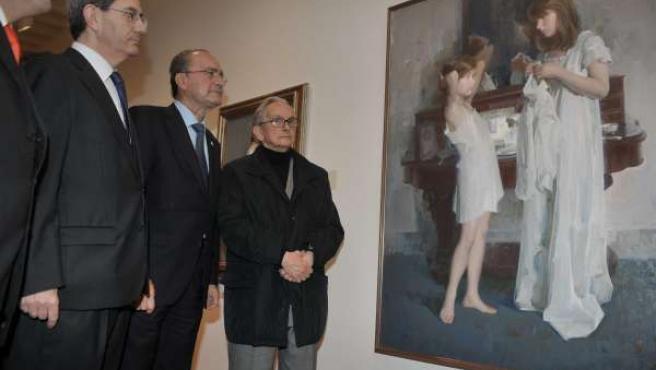 De Mateo, De La Torre Y Revello De Toro En El Museo Del Artista