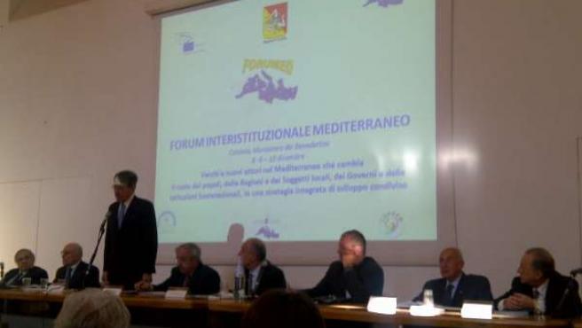Una De Las Conferencias De Forumed En Catania.