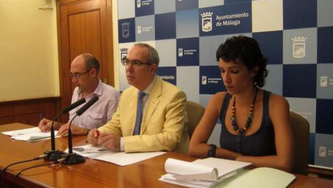 Pedro Moreno Brenes Y Los Concejales De IU