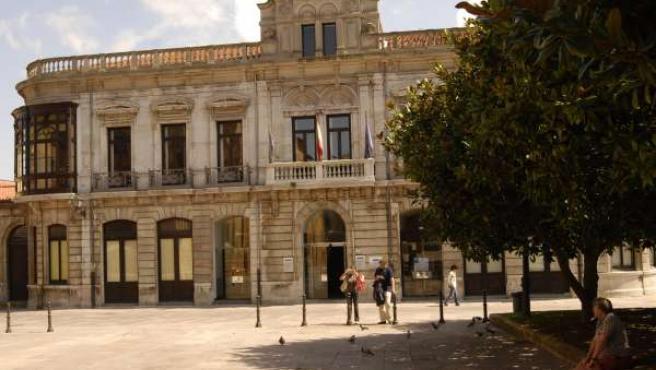 Conservatorio principal de música de en Oviedo