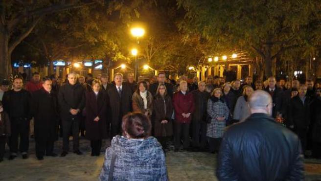 Miembros De La AVT, Guardia Civil Y Políticos En El Acto En Recuerdo A Víctimas