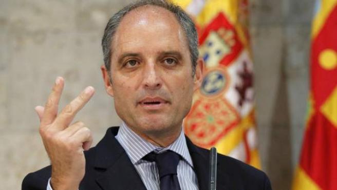 Francisco Camps, expresidente de la Generalitat valenciana.