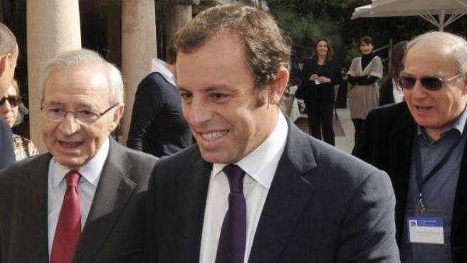 Sandro Rosell, presidente del Barça.