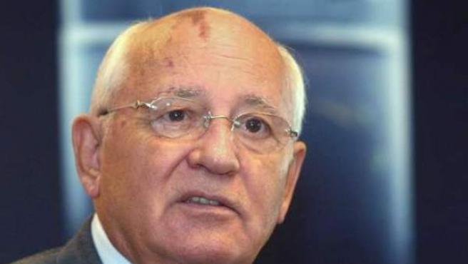 El ex líder soviético Mijáil Gorbachov.