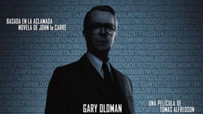 Cartel de la película 'El Topo', basado en el best-seller del escritor británico.