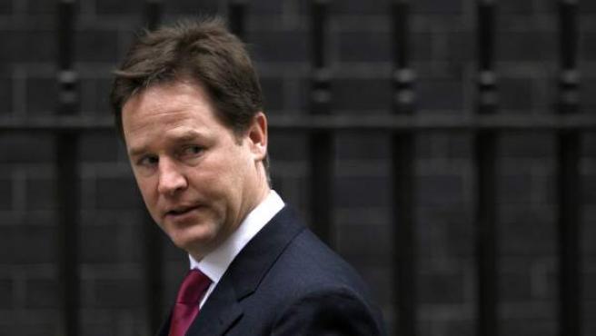 Imagen de archivo del viceprimer ministro británico, Nick Clegg.