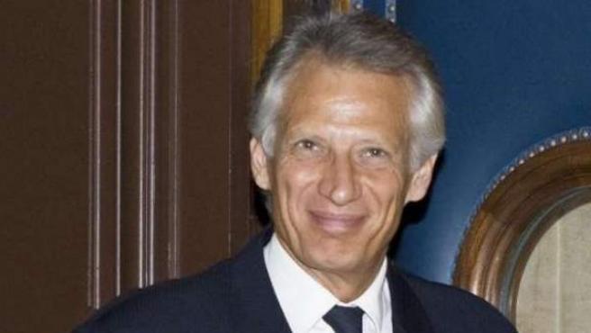 El exprimer ministro de Francia y candidato a las elecciones presidenciales galas de 2012, Dominique de Villepin, en una imagen de archivo.