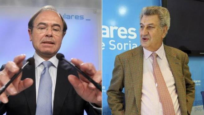 Pío García Escudero y Jesús Posada.