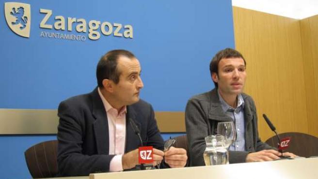 Raúl Ariza Y Pablo Muñoz