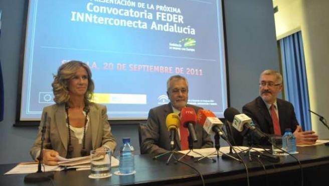 Acto De La Presentación De.L Programa Feder-Innterconecta En Andalucía