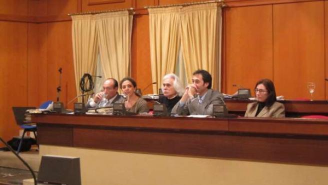 Concejales De UCOR En El Pleno Del Ayuntamiento