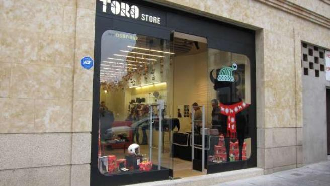 Tienda De Osborne En Salamanca.