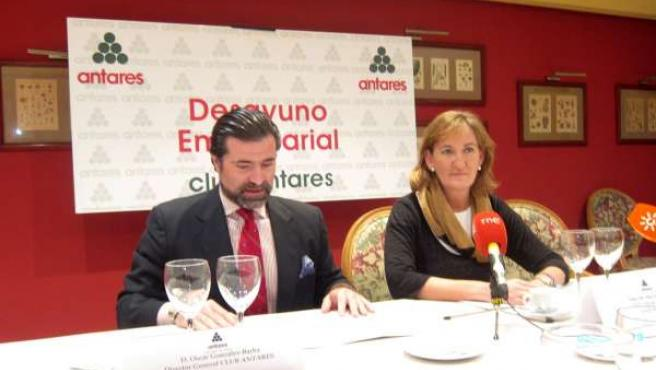 Desayuno Empresarial De La Delegada De Cultura En El Club Antares