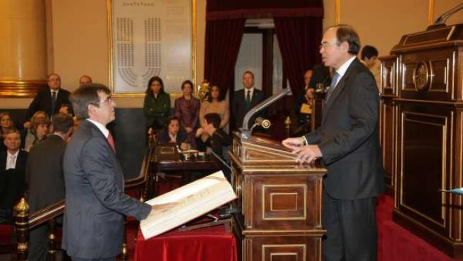 Francesc Antich Toma Posesión De Su Escaño En El Senado