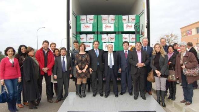 Camión De La Solidaridad De Fundacion MAS