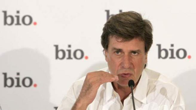 Cayetano Martínez de Irujo, durante la rueda de prensa para presentar el documental sobre su vida que emitirá el canal Bio.