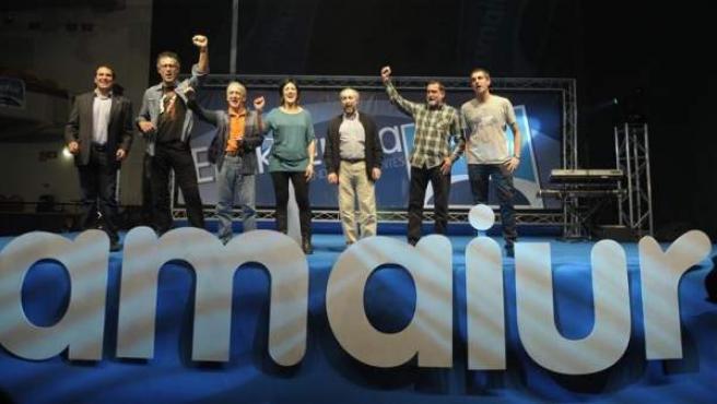 Amaiur, la coalición formada por la izquierda abertzale, Eusko Alkartasuna, Aralar y Alternatiba, entró en el Congreso de los Diputados con grupo propio tras las pasadas elecciones generales.