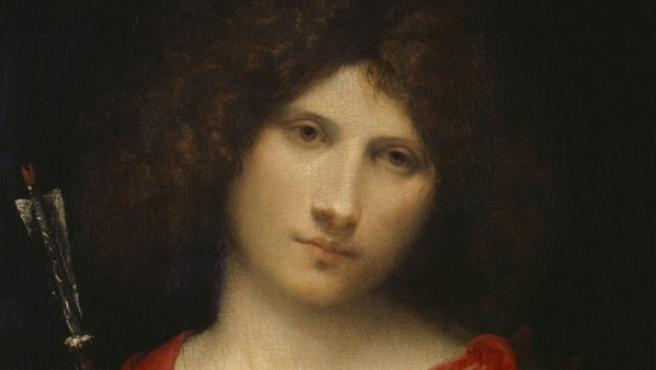 Joven con una flecha, uno de los cuadros del enigmático Giorgione