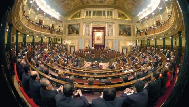 Vista general del Congreso de los Diputados, en una imagen de archivo.