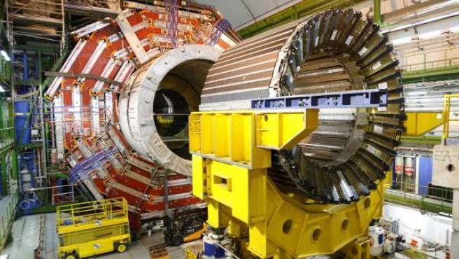 El gran colisionador de hadrones del CERN.