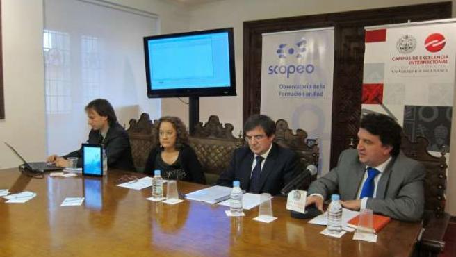 Presentación Del Estudio De La Universidad De Salamanca Sobre `M-Learning'