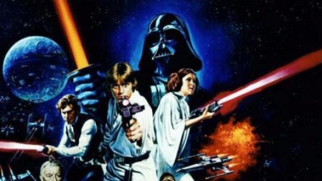 Personajes de la primera trilogía de 'Star Wars'.