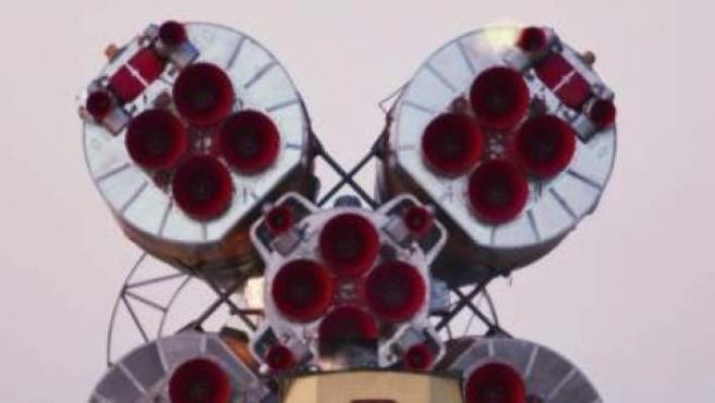 Imagen de archivo de una nave espacial, en este caso la Soyuz TMA-22.