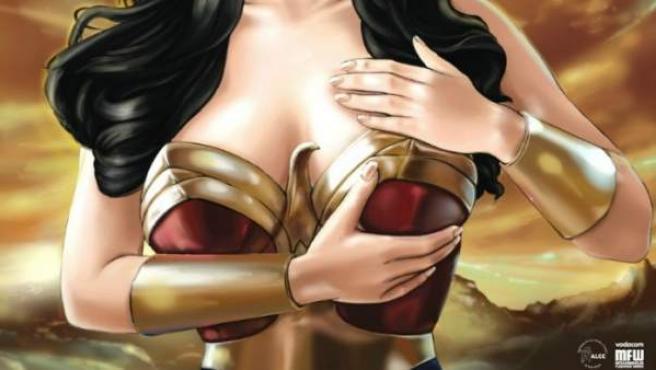 Wonder Woman, protagonista de una campaña contra el cáncer de mama.