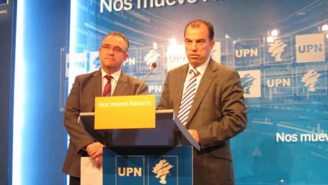 Enrique Maya Y Carlos García Adanero, De UPN.