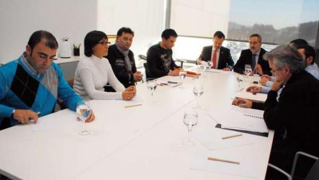 Reunión Xunta Y Elnosa