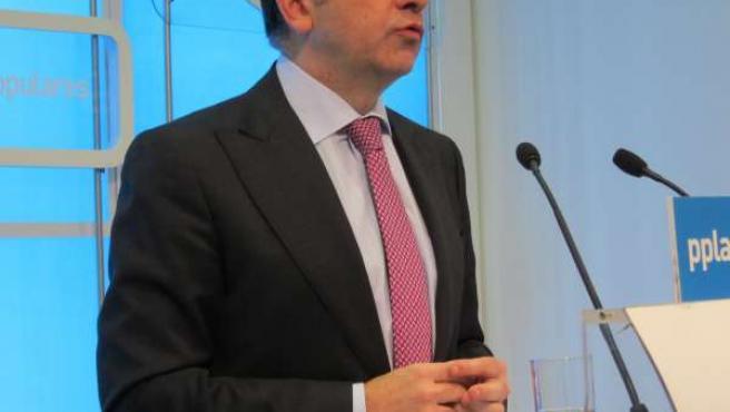 El Secretario General Del PP Carlos Cuevas