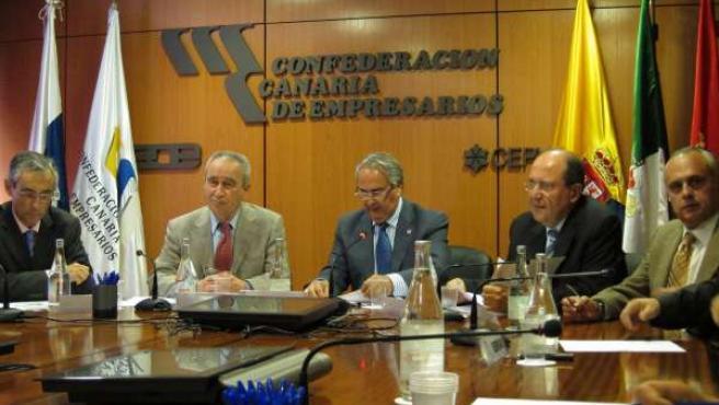Sebastián Grisaleña, Fernando Fraile y Juan Manuel Suárez del Toro