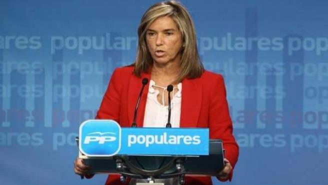 La nueva ministra de Sanidad, Servicios Sociales e Igualdad, Ana Mato, en una imagen de archivo.