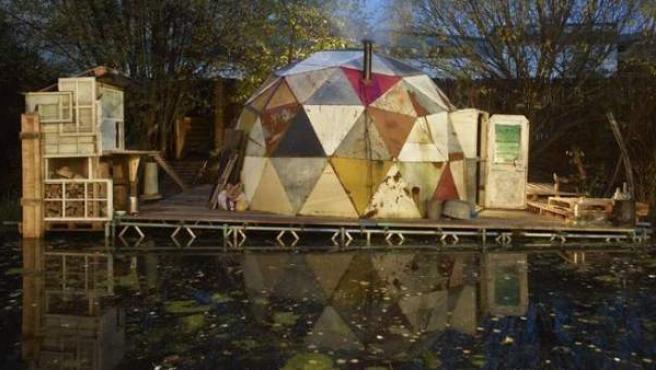 El 'domo' donde vivirá Hartley mientrasla exposición esté en cartel
