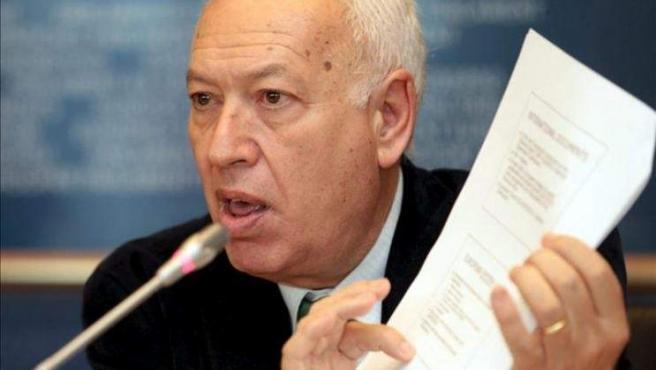 José Manuel García-Margallo, ministro de Asuntos Exteriores.